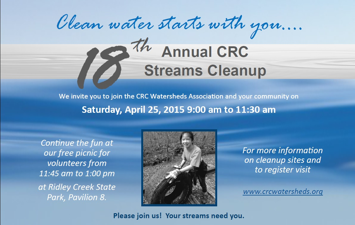 Streams Cleanup Flyer